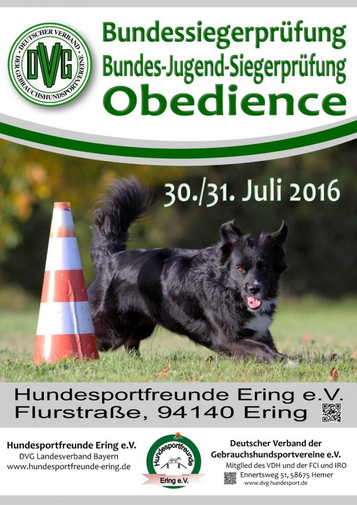 DVG BSP Obedience @ Inntaler Hundesportfreunde Ering e.V | Ering | Bayern | Deutschland