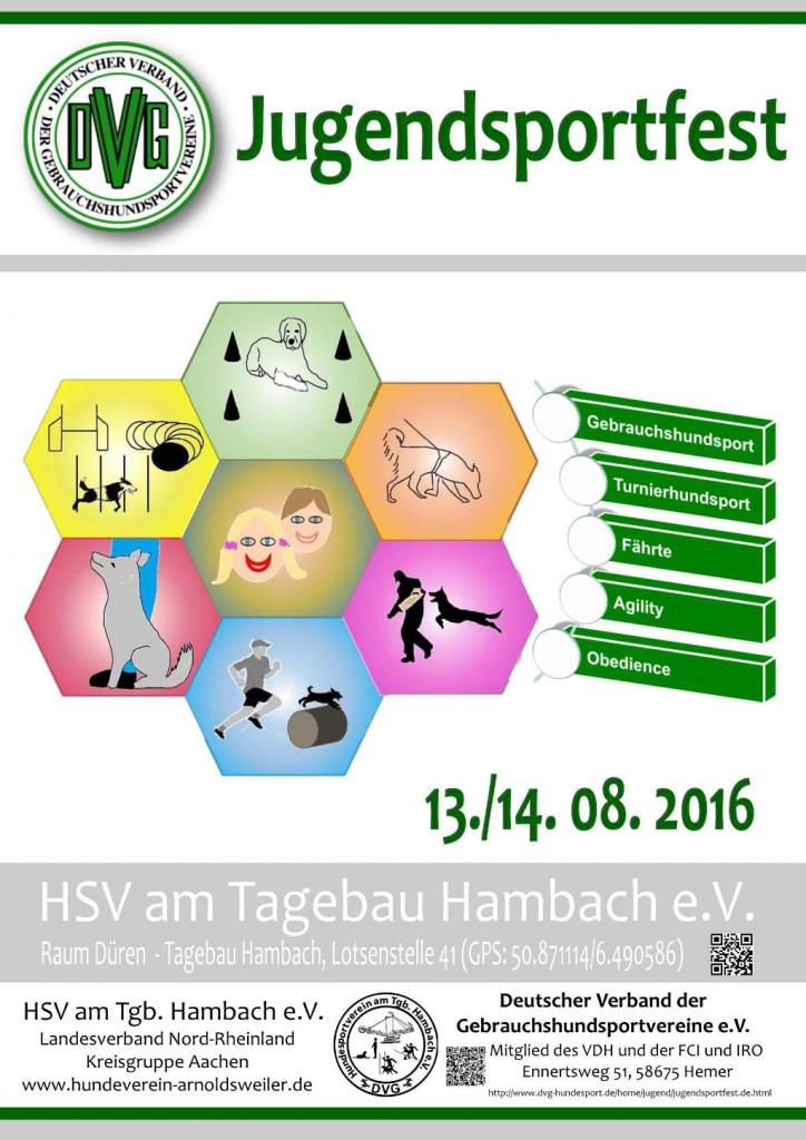 DVG Jugendsportfest @ Hundesportverein am Tagebau Hambach e.V.