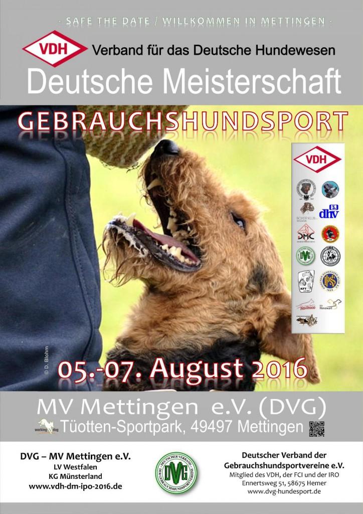VDH-DM Gebrauchshunde @ DVG, MV Mettingen e.V. | Mettingen | Nordrhein-Westfalen | Deutschland
